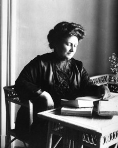 Maria Montessori Pictured in 1913